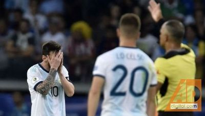 VARgentina empata 1 a 1 con Paraguay