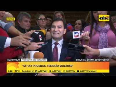 Silvio Ovelar: Tendría que demostrar su inocencia