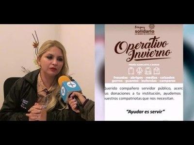 MINISTERIO DE TRABAJO LANZA OPERATIVO INVIERNO