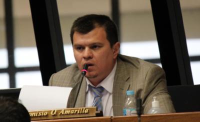Dionisio Amarilla acciona contra su pérdida de investidura
