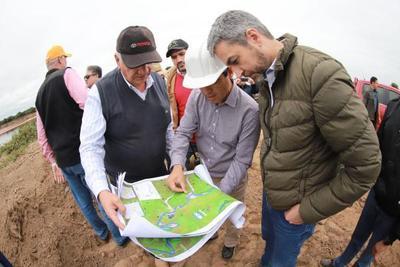 Canal Meyer permitirá mejor aprovechamiento de aguas del Pilcomayo