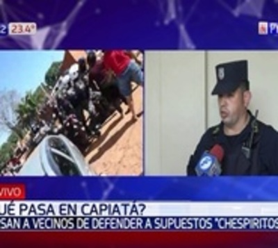 Batalla campal tras procedimiento policial en Capiatá