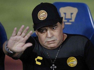 El fuerte descargo de Maradona