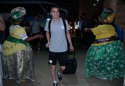 Paraguay llega a Salvador de Bahía y ya piensa en Colombia