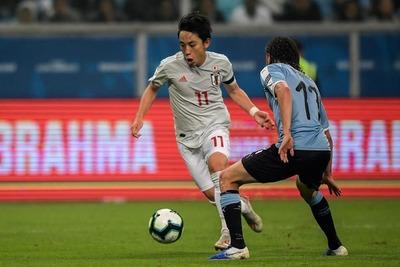 Uruguay empató ante una sorprendente selección japonesa