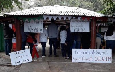 PARODIA de audiencia pública para instalar a cementera sobre reserva de bosques nativos