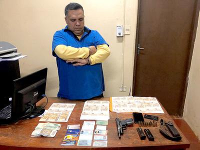 """Secretario """"recaudador"""" de SENAD cae preso durante entrega vigilada"""