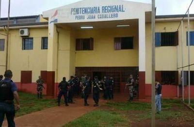 Cateo en cárcel de PJC