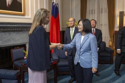 Presidenta de la República China-Taiwán recibió a delegación paraguaya liderada por Ministra de Industria y Comercio