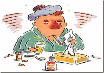Si tenes gripe, olvídate de dar beso y tomar tereré