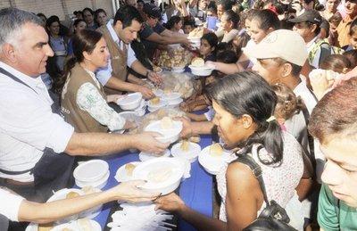 Athena Foods Paraguay organizo una jornada solidaria para los afectados por las inundaciones