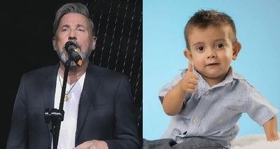 Ricardo Montaner cantará a dúo con Brunito antes de su show