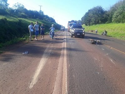 Motociclista fallece en accidente de tránsito sobre la ruta 6