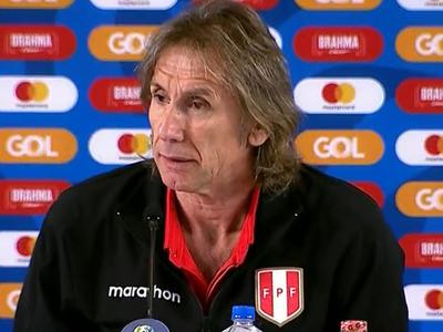 Gareca analiza lo que fue la derrota de Perú