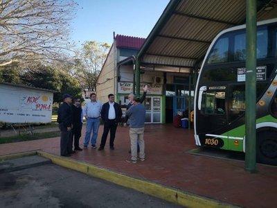 Verifican paso fronterizo entre Ayolas e Ituzaingó