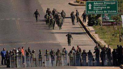 Denuncian la desaparición de seis militares venezolanos