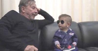 Ricardo Montaner cantó con su sobrino Brunito