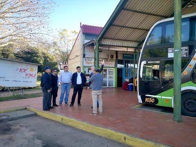 Dinatran alista paso de buses