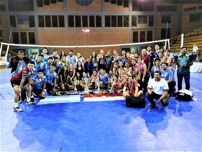 Argentina y Bolivia se coronan en el Campeonato Internacional de Vóley