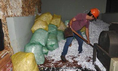 Planta recicladora de Itaipú procesa unos 18.000 kilos de papel, cartón y plástico al año