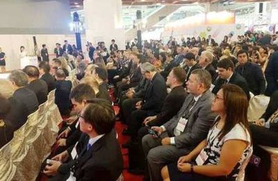 Delegación paraguaya en Feria de Alimentos de Taiwán