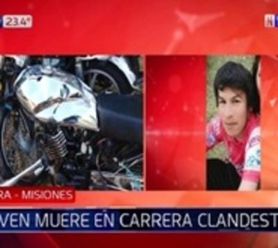 Un fallecido y tres heridos graves en presunta carrera clandestina