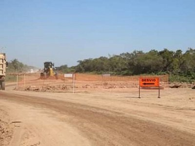 Alto Paraguay tendrá su primer kilómetro de ruta asfaltada