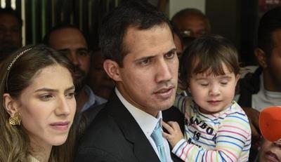 Guaidó y su esposa denuncian amenazas del régimen de Maduro
