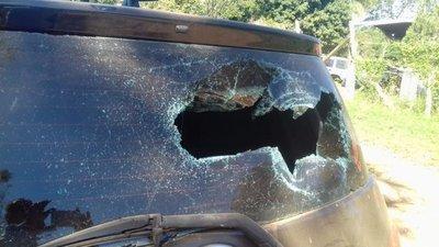 Concejal de Campo 9 vandaliza vehículo de expareja
