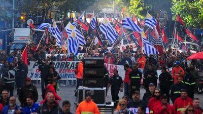 La central sindical de Uruguay convoca una huelga general para el 25 de junio
