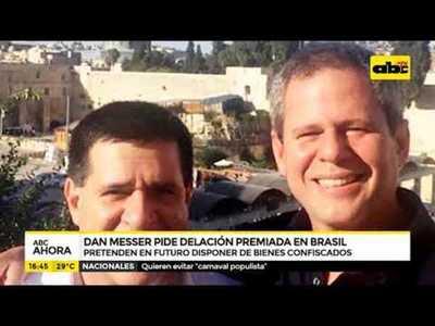Dan Messer pide delación premiada en Brasil
