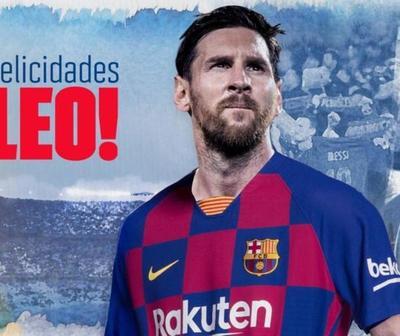 Mirá el regalo del Barcelona a Messi que encendió las redes