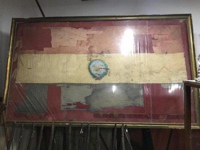 Restaurarán bandera de los alumnos del CNC acribillados en 1931
