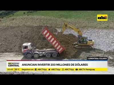 Anuncian invertir 200 millones de dólares
