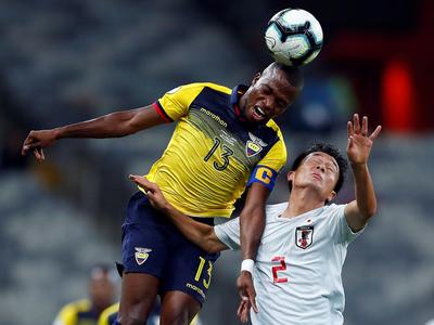 Ecuador y Japón igualaron 1-1 y la Albirroja festeja
