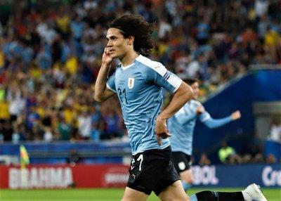 Uruguay supera a Chile y se adueña del Grupo C de la Copa América