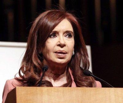 """Existen """"sobradas pruebas"""" contra expresidenta Kirchner"""