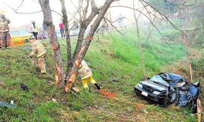 Accidentes dejan dos muertos en Alto Paraná
