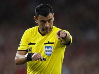 Roberto Tobar será el árbitro de Paraguay – Brasil