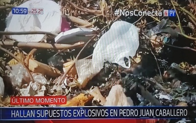 Pedro Juan: Hallan paquete y analizan si son explosivos