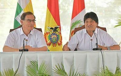 Mandatarios de Perú y Bolivia trabajan en proyecto de megapuerto en Ilo