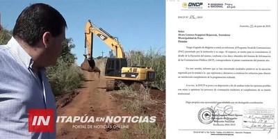 CONTRATACIONES PÚBLICAS RECONOCE TRANSPARENCIA DE LA COMUNA FRAMEÑA