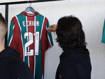 Fluminense sorprende a Uruguay en su último entrenamiento
