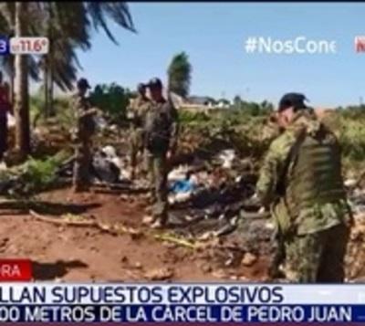 Dispositivo hallado en Pedro Juan contenía dinamita en gel