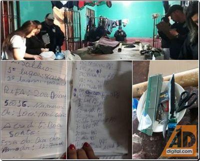 Documentos apreendidos na Penitenciaria da fronteira evidenciam expanção do PCC nos presidios do Paraguay