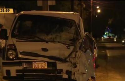 Grave accidente de tránsito se registró en Reducto