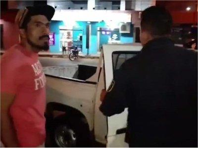 Detienen a manifestante por violación de medida judicial