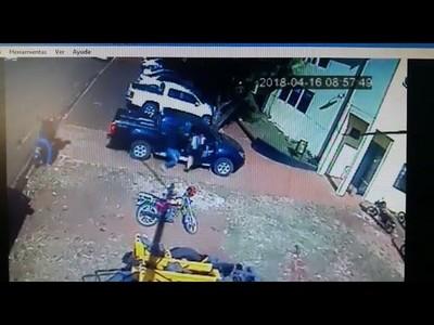 CAE SOSPECHOSO DE ROBO A LA MUNICIPALIDAD DE CAMBYRETÁ