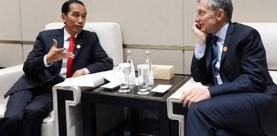 Macri visita Indonesia antes del G20 para potenciar los lazos comerciales