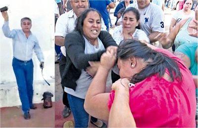 Vigilia en San Antonio por pedido de intervención
